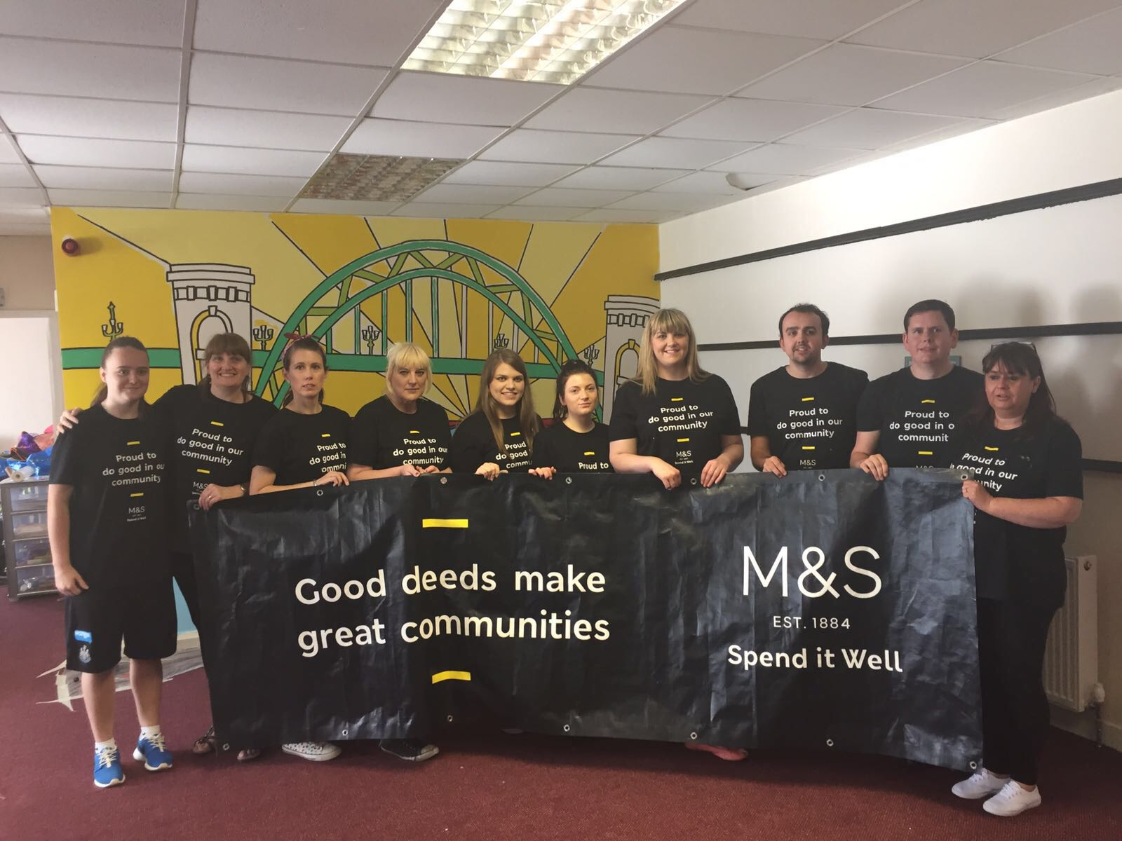 Not Just a Makeover: M&S Partners with the Food Bank